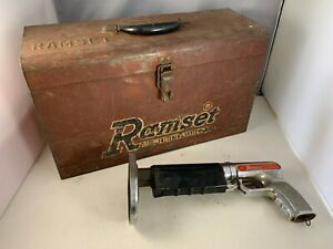 Vintage Ramset Fastening System W Fasteners Tool Box Parts Usa Made