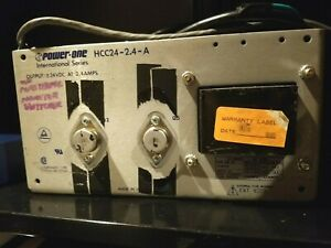 Power one Volt 2 4 Amps Power Supply