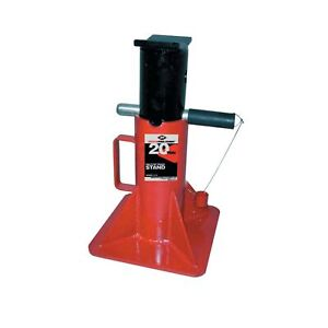 Aff Heavy Duty Pin Type Jack Stands 20 Ton 40 000 Lbs Capacity 3314