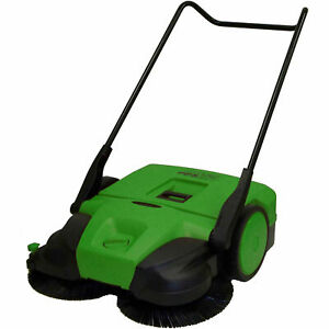 Bissell 38 Deluxe Triple Brush Push Power Sweeper Turbo 13 2 Gal Capacity