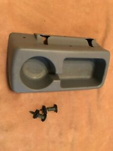 1992 1996 Ford Truck F150 F250 F350 Cupholder Bench Seat Cup Holder Gray