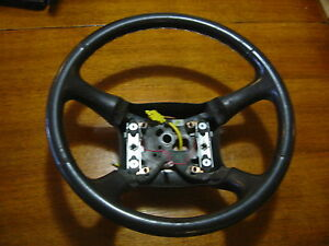 1999 2002 Chevy Gmc Silverado Sierra Suburban Duramax Leather Steering Wheel