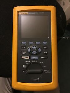 Fluke Dsp 4000 Cable Analyzer Dsp 4000 Good Working Replacement