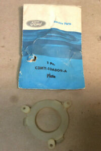 Nos 1963 Other Mercury Comet Steering Wheel Horn Ring Plate C3my 13a809 A
