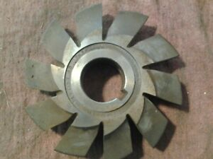 Union Twist Involute Gear Cutter No 4 14 1 2 P Gear Hobber