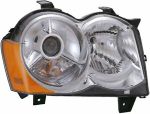 2008 2010 Jeep Grand Cherokee Hid Headlight Assembly Passenger Right