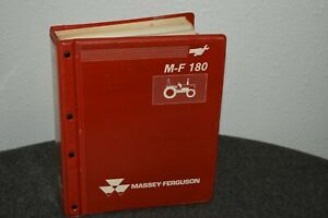 Massey ferguson Mf 180 mf 202 multi model Tractor Shop Service Manual 1986 89