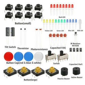 Starter Learning Set For Arduino Uno R3 Servo Processing Durable 230x160x60mm