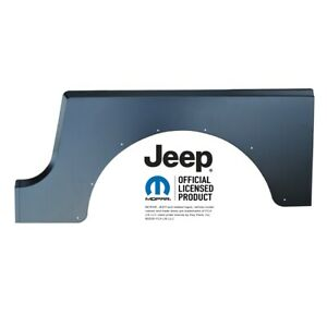Key Parts 0480 125 Quarter Panel 1987 1995 Jeep Wrangler Yj Pre Installed B Pill