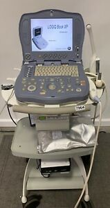Ge Logiq Book Xp Portable Ultrasound Machine W probes 3c rs E8c Sony 7964