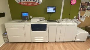 Xerox C75 Digital Press Color Production Printer Copier Scanner 75ppm