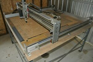 Pdj 50 X 50 Cnc Router With Table Fully Assembled With Computer