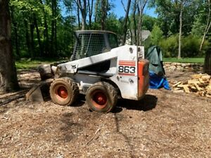 Bobcat 863 Skidsteer 2600 Hours Well Maintained Used Mainly Around House