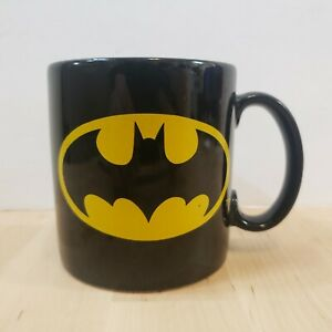 Batman Coffee Mug Tea Cup DC Comics Applause Black Yellow