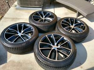 Dodge Charger Challenger Scat Pack Oem 20 Wheels Factory Alloy Rim New Tires