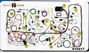 1966 1977 Ford Bronco Classic Wiring Harness Aaw New Usa Quality Wiring