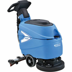 Automatic Floor Scrubber With 17 Cleaning Path