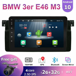 Android 10 0 Car Stereo Radio Head Unit For Bmw 3er E46 320 323 325 Dab car Play