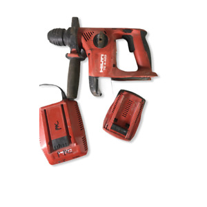 Hilti Te4 a22 Cpc 21 6 volt Cordless Rotary Drill W 5 2ah Battery Charger