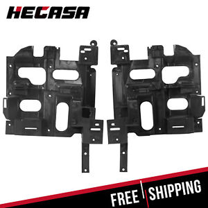 For 03 07 Chevy Silverado Driver Passenger Pair Headlight Mount Holder Bracket