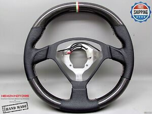 Ferrari F360 Cs Coupe Stradale Italian Flag Ring Thick Carbon Steering Wheel V1