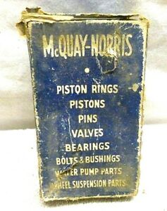 Vintage Old 1939 Chevy Chevrolet Parts Mcquay Norris Tie Rod Socket Set Es 82
