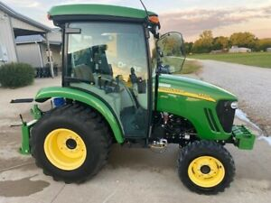2013 John Deere 3720 Tractor With Auto Connect 7d Mower Connect
