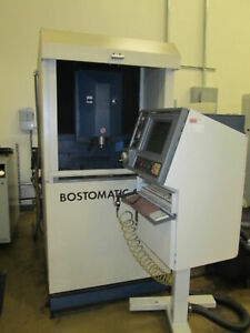 Bostomatic 12g 13 x 16 table 230v 3ph Cnc Vertical Mill W 30k Spindle New 00