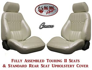 1971 72 Camaro Seats Standard Touring Ii Fully Assembled Rear Seat Upholstery