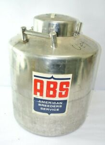 Abs Nd 1 Liquid Nitrogen Storage Tank Dewar 50 Gallons