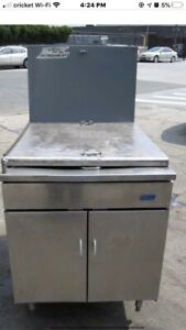 Pitco 24p ss Donut And Fish Fryer With Submerger 120000 Btu
