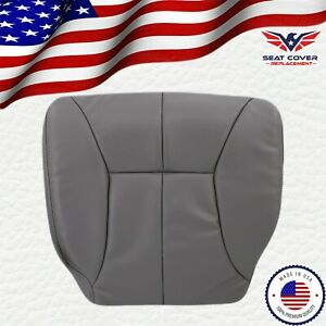1998 2002 Dodge Ram 1500 2500 Slt Driver Bottom Replacement Seat Cover Gray