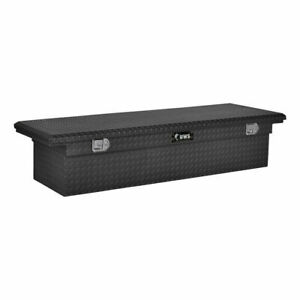 Uws Low Profile Crossover 69 Matte Black Tool Box 2017 2018 Full Size Truck