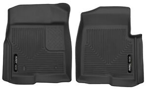 Husky Liners X act Controur Front Floor Mats Black For 2009 14 Ford F 150