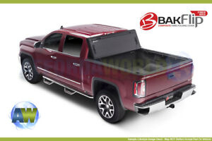 Bak Bakflip Fibermax Hard Tri fold Tonneau Cover For 2015 20 Ford F150 8ft Bed