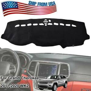 Dash Mat Dashmat Dashboard Cover For Jeep Grand Cherokee Wk2 2011 2020