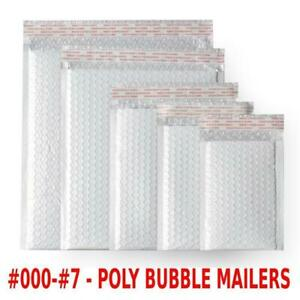 Any Size Poly Bubble Mailers Shipping Mailing Padded Bags Envelopes 000 7