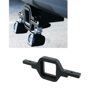 Tow Hitch Mount Bracket Fit 4 Led Light Pods Reverse Rear Offroad Car Truck Suv