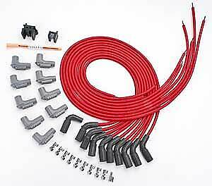 Msd Ignition 32139 Red Universal 8 5mm Spark Plug Wire Set