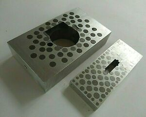 Magnetic Transfer Parallel Blocks Chuck Block Edm Cnc Grind Alum Steel Pins