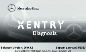 Xentry 06 2020 Passthru J2534 Mercedes Diagnostic 06 2020 With Long Key