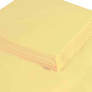 20 x30 Yellow Tissue Paper 480 Pack