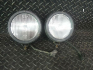 Jeep Wrangler Tj 97 06 Factory Front Bumper Fog Light Set Pair Factory Oem