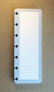 Levenger Circa Discbound Task Pad Refill 50 Sheets Compact Size