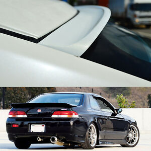 Painted Color For Honda Prelude 5th Rear Roof Window Spoiler K Type 2dr 1997 01