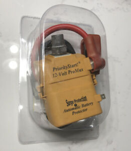 Priority Start 079606 Pro 12 Volt Automatic Battery Disconnect Protector
