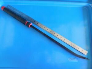 New Mac Tools 25 In Curved Capped Red Pry Bar Part pb25cr