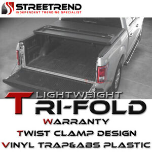 For 2014 2020 Toyota Tundra 6 5 Ft Bed Hard Tri fold Vinyl Abs Tonneau Cover
