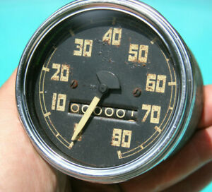 54 59 Gmc Vintage Ac Truck 80 Mph Speedometer Comes W Decal