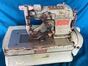 Reece Buttonhole Machine S2 bh 1 4 To 1 1 4 Industrial Sewing Machine